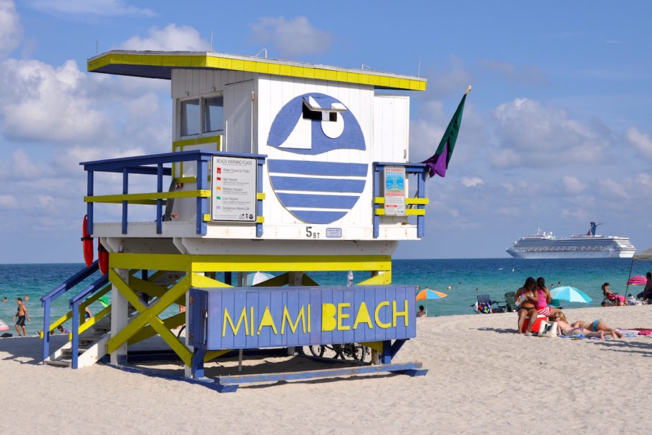 Miami Beach. Courtesy of University of Miami.