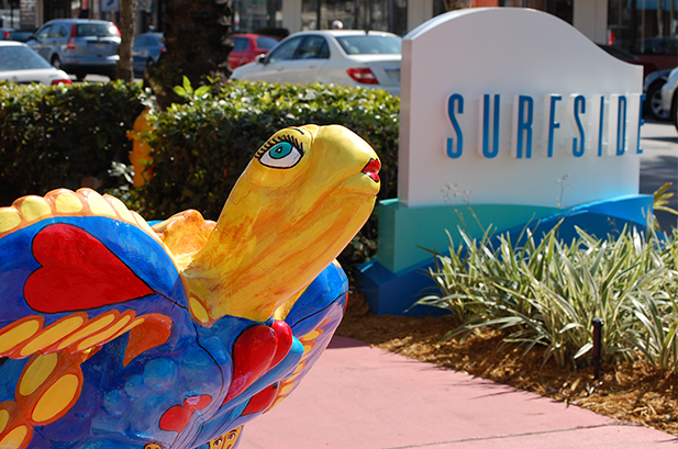 Surfside Sign